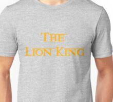 The Lion King  Unisex T-Shirt