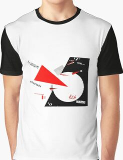 El Lissitzky - Beat the Whites Graphic T-Shirt