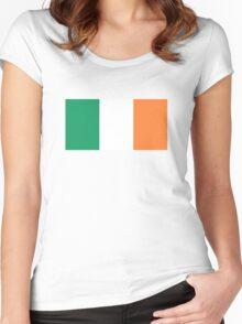 Irish Flag Women's Fitted Scoop T-Shirt