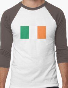 Irish Flag Men's Baseball ¾ T-Shirt
