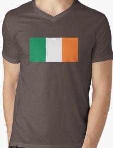 Irish Flag Mens V-Neck T-Shirt