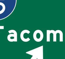 Tacoma I5, WA Road Sign, USA Sticker