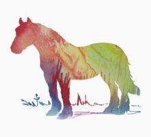 Horse portrait Baby Tee