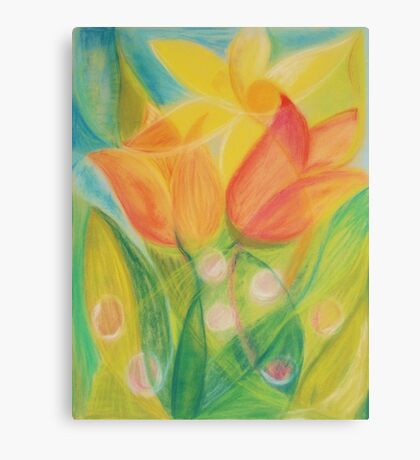 April Blossoms Canvas Print