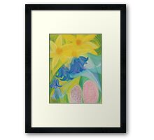 March Blossoms Framed Print