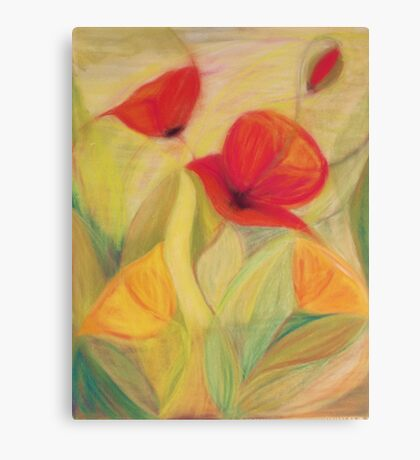 June Blossoms Canvas Print