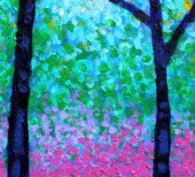 Spring Woodland Sticker