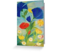 July Blossoms Greeting Card