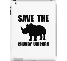 Chubby Unicorn Rhino iPad Case/Skin