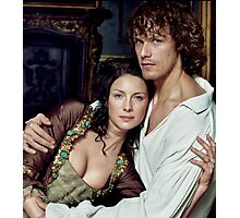 Love in Outlander Photographic Print