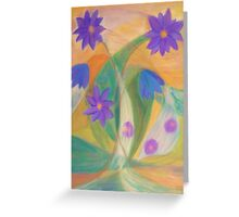 October Blossoms Greeting Card