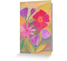 September Blossoms Greeting Card