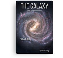 THE GALAXY⎜SPACE⎜TIME⎜SCIENCE Canvas Print