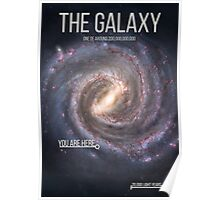 THE GALAXY⎜SPACE⎜TIME⎜SCIENCE Poster