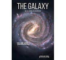 THE GALAXY⎜SPACE⎜TIME⎜SCIENCE Photographic Print