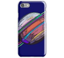 Saturn:  The Ringed Planet iPhone Case/Skin