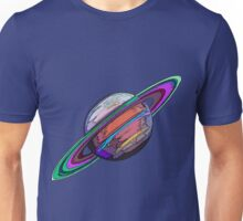 Saturn:  The Ringed Planet Unisex T-Shirt