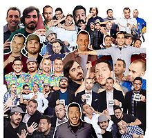Impractical Jokers Collage (Pillow and Tote Bag) by LauraWoollin