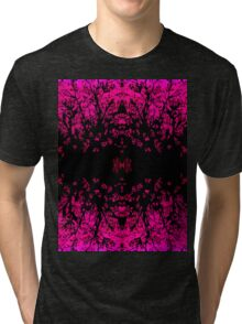 Abstract design _pink edition Tri-blend T-Shirt
