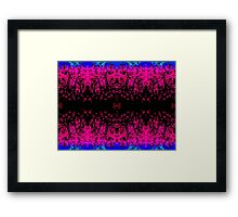 Abstract design _pink edition Framed Print