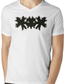 Weird parasite Mens V-Neck T-Shirt