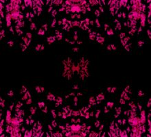 Abstract design _pink edition Sticker