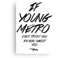 Young Metro Canvas Print