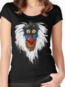 Rafiki-The Lion King Women's Fitted Scoop T-Shirt
