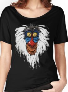 Rafiki-The Lion King Women's Relaxed Fit T-Shirt