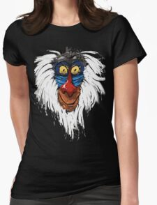 Rafiki-The Lion King Womens Fitted T-Shirt