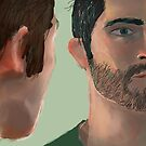 Wolf and Human - Sterek by thescudders