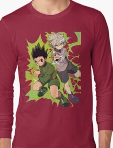 Killua and Gon Hunter X Hunter Long Sleeve T-Shirt