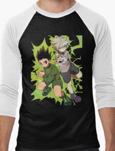 Killua and Gon Hunter X Hunter Men's Baseball ¾ T-Shirt