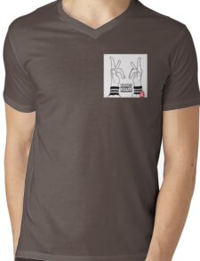 Kraftklub Mens V-Neck T-Shirt
