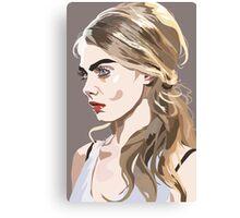 Queen Cara Canvas Print
