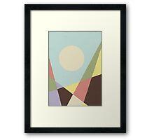HERE VII Framed Print