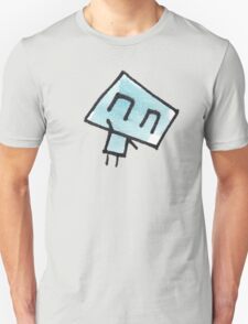 Icklo the robot waving Unisex T-Shirt