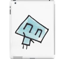 Icklo the robot waving iPad Case/Skin