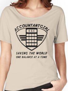 Accountantgirl Women's Relaxed Fit T-Shirt