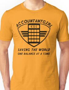 Accountantgirl Unisex T-Shirt