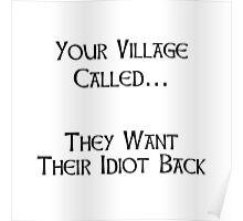 Village Idiot Poster