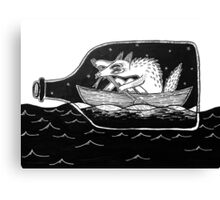 sailor dog Canvas Print