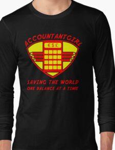 Accountantgirl Long Sleeve T-Shirt