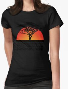 The Lion King Womens Fitted T-Shirt