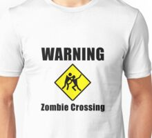 Zombie Crossing Unisex T-Shirt