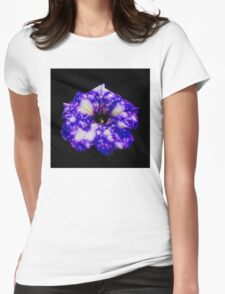 Famous Night sky Petunia Womens Fitted T-Shirt
