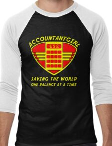 Accountantgirl Men's Baseball ¾ T-Shirt