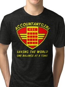 Accountantgirl Tri-blend T-Shirt
