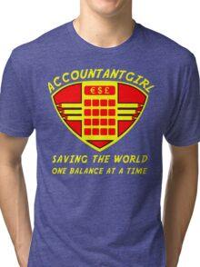 Accountantgirl Tri-blend T-Shirt