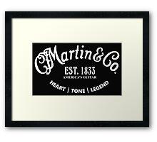 Martin & Co Framed Print